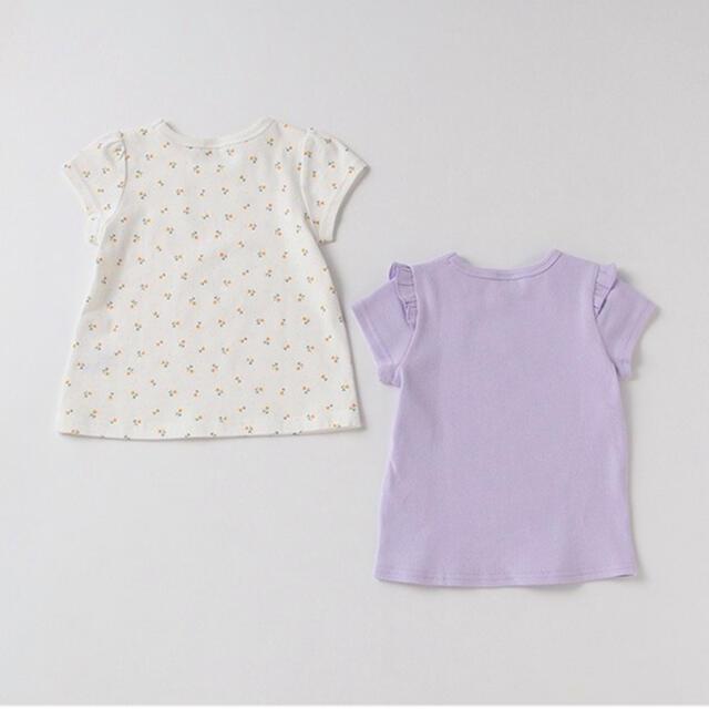 petit main(プティマイン)のpetit main  プティプラ GIRLS Tシャツセット  100 キッズ/ベビー/マタニティのキッズ服女の子用(90cm~)(Tシャツ/カットソー)の商品写真