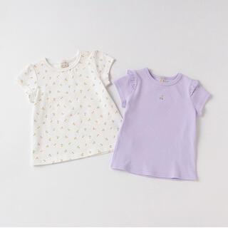 petit main - petit main  プティプラ GIRLS Tシャツセット  100