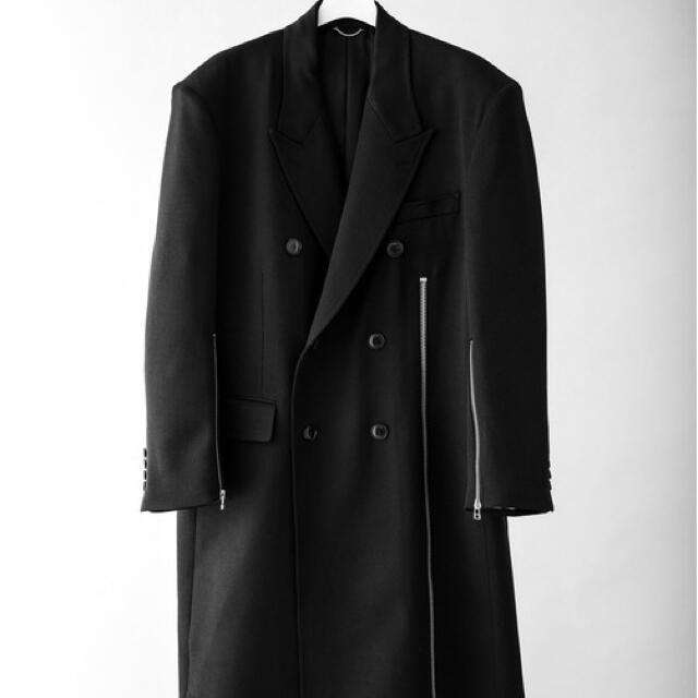 JOHN LAWRENCE SULLIVAN(ジョンローレンスサリバン)のジョンローレンスサリバン zipコート メンズのジャケット/アウター(チェスターコート)の商品写真