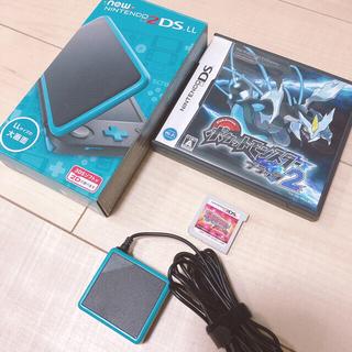 ニンテンドー2DS - Nintendo 2DS LL & ポケモンソフト2個セット