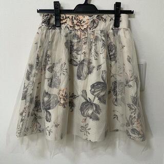 ロジータ(ROJITA)のクチュールバイロジータ 花柄フレアスカート(ひざ丈スカート)