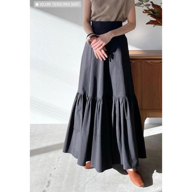 clane スカート レディースのスカート(ロングスカート)の商品写真