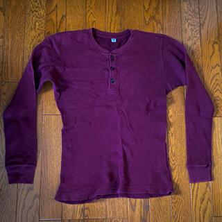 ユニクロ(UNIQLO)のユニクロ ワッフル カットソー(Tシャツ/カットソー(七分/長袖))