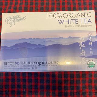 ★オーガニックホワイトティー★白茶 100パック(茶)