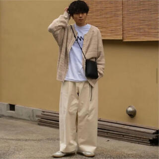 SUNSEA - yoke 5G BackZip Oversized Rib Knit ほぼ未使用
