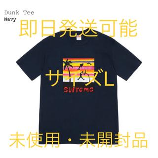 シュプリーム(Supreme)のサイズL 2021 SS week8 Supreme Dunk Tee Navy(Tシャツ/カットソー(半袖/袖なし))