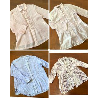 ユニクロ(UNIQLO)の母の日 ミセス ブラウスセット シャツ 4枚セット(シャツ/ブラウス(長袖/七分))
