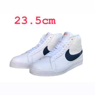 ナイキ(NIKE)のNIKE SB ZOOM BLAZER MID ORANGE LABEL(スニーカー)