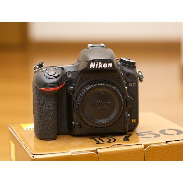 Nikon(ニコン)の【ショット回数約1万】ニコン D750 ボディ本体【保証・おまけ付き】 スマホ/家電/カメラのカメラ(デジタル一眼)の商品写真