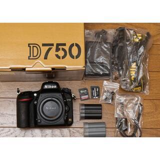 Nikon - 【ショット回数約1万】ニコン D750 ボディ本体【保証・おまけ付き】