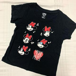 ジーユー(GU)のGU ディズニーTシャツ 100cm(Tシャツ/カットソー)
