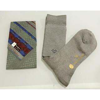 ヴァレンティノ(VALENTINO)のヴァレンティノ 靴下 ハンカチ セット(ソックス)