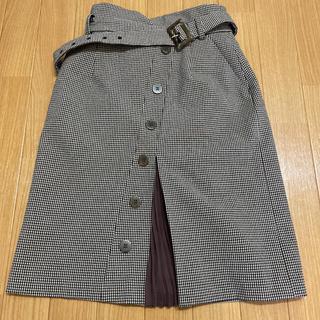 プロポーションボディドレッシング(PROPORTION BODY DRESSING)のプロポーションボディドレッシング  トレンチプリーツタイトスカート(ひざ丈スカート)