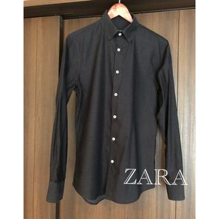 ZARA - メンズ ZARA スリムフィット カジュアルシャツ