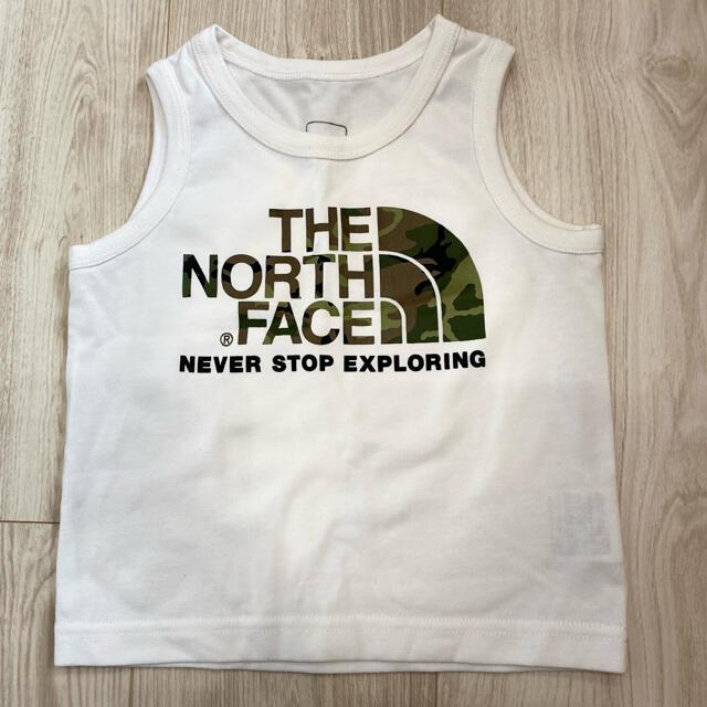 THE NORTH FACE(ザノースフェイス)のTHE NORTH FACE✳︎タンクトップ 90サイズ キッズ/ベビー/マタニティのキッズ服男の子用(90cm~)(Tシャツ/カットソー)の商品写真