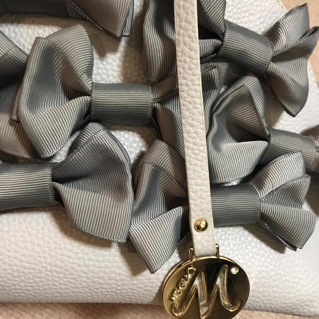 M'S GRACY(エムズグレイシー)のエムズグレイシー バッグ リボン かばん 鞄 レディースのバッグ(トートバッグ)の商品写真