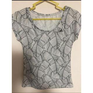 アディダス(adidas)のadidas フレンチスリーブ(Tシャツ(半袖/袖なし))