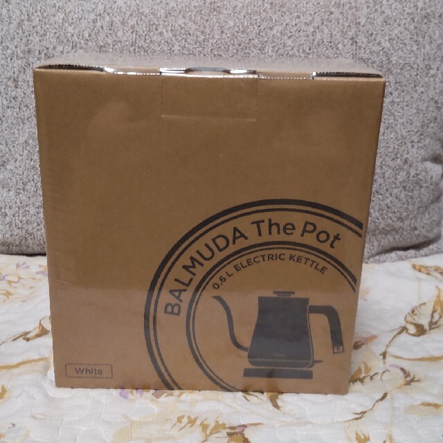 BALMUDA(バルミューダ)のバルミューダ ザ ポット スマホ/家電/カメラの生活家電(電気ケトル)の商品写真