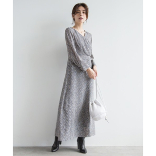 アクアガール(aquagirl)の【aqua girl 】ロングワンピース(ロングワンピース/マキシワンピース)