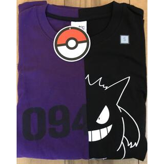 ジーユー(GU)のGU ポケモンTシャツ ゲンガー Sサイズ(Tシャツ/カットソー(半袖/袖なし))