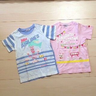 mikihouse - ミキハウス★Tシャツ 110 2枚セット