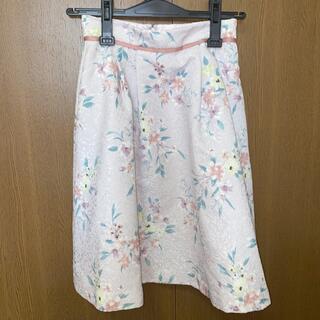 プロポーションボディドレッシング(PROPORTION BODY DRESSING)の花柄スカート(ひざ丈スカート)