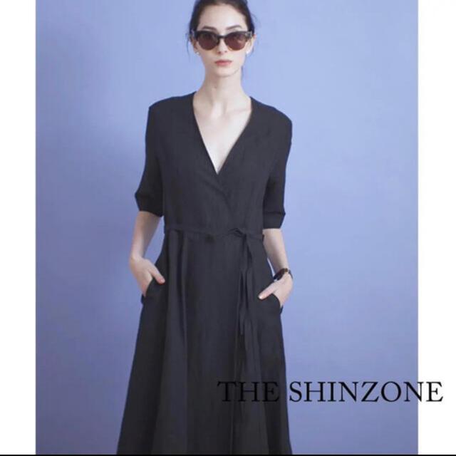 Shinzone(シンゾーン)のリネン カシクールワンピース レディースのワンピース(ロングワンピース/マキシワンピース)の商品写真