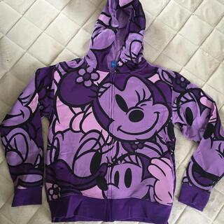 ディズニー(Disney)のディズニーランド パーカー パープル 紫(パーカー)