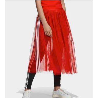 アディダス(adidas)のアディダス フレアスカート(ロングスカート)
