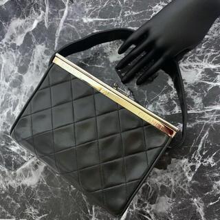 CHANEL - 超希少&極美品!シャネル 観音開き ハードボックス型 マトラッセ ハンドバッグ