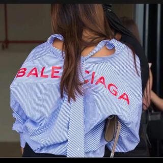 Balenciaga - Balenciaga スウィングシャツ 36