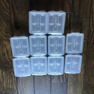 チュチュベビー フリージング小分け容器 60ml×10個(離乳食調理器具)