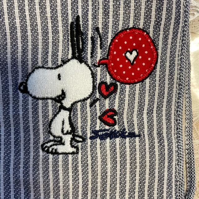 SNOOPY(スヌーピー)のスヌーピ−ハンカチ レディースのファッション小物(ハンカチ)の商品写真