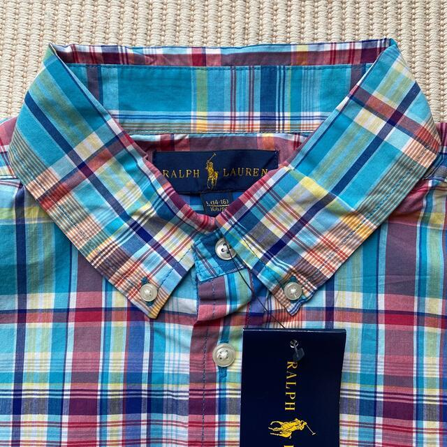 POLO RALPH LAUREN(ポロラルフローレン)のポロラルフローレン 半袖シャツ 160 キッズ/ベビー/マタニティのキッズ服男の子用(90cm~)(Tシャツ/カットソー)の商品写真