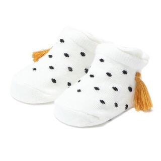 petit main - プティマイン タッセルつきカップソックス 靴下 新品