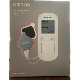 オムロン(OMRON)のOMRON 温熱低周波治療器 HV-F313(マッサージ機)