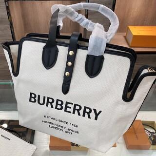 バーバリー(BURBERRY)のBurberry トートバッグ キャンバス(その他)