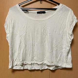 アズールバイマウジー(AZUL by moussy)の★値下げ★AZUL Tシャツ トップス 白 ホワイト(Tシャツ(半袖/袖なし))