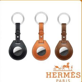Hermes - 新品 未使用 AirTag Hermès キーリング