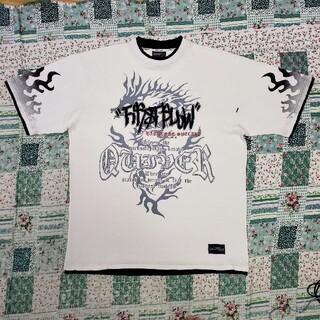 AB-TECH 半袖Tシャツ メンズ Lサイズ(大きめ)