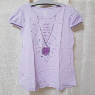 ユニクロ(UNIQLO)の120 ディズニー プリンセス ソフィア 半袖Tシャツ(Tシャツ/カットソー)