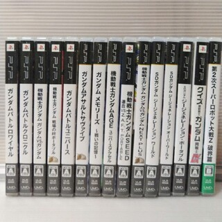 PlayStation Portable - ガンダム系 PSPソフト15本セット プレイステーションポータブル