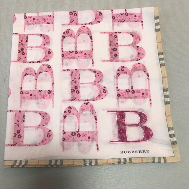 BURBERRY(バーバリー)のBurberryハンカチ☆値下げ不可 レディースのファッション小物(ハンカチ)の商品写真