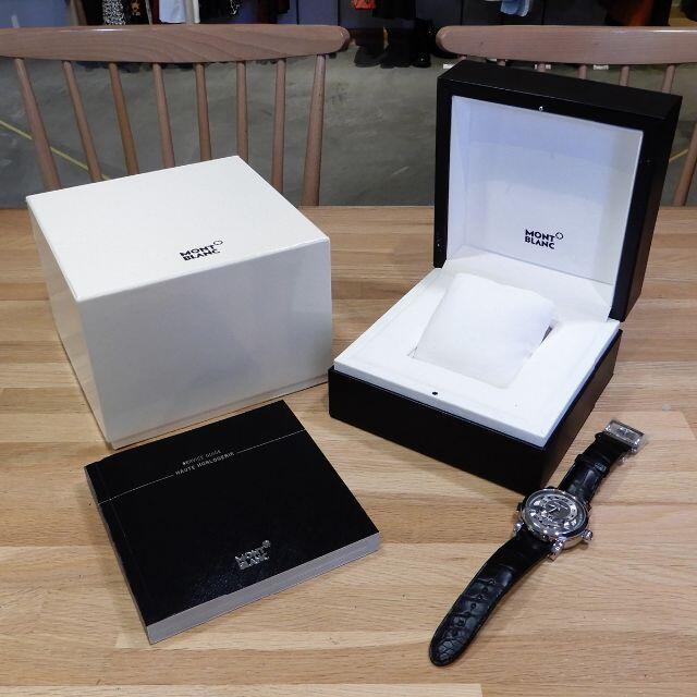 MONTBLANC(モンブラン)の新品未使用 モンブラン ニコラリューセック モノプッシャー クロノグラフ メンズの時計(腕時計(アナログ))の商品写真