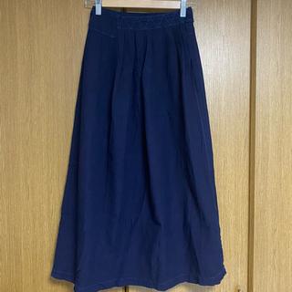 ドアーズ(DOORS / URBAN RESEARCH)のhomspunラップロングスカート(ロングスカート)