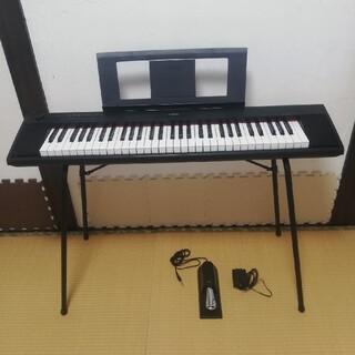 ヤマハ(ヤマハ)のminさま専用!YAMAHA piaggeroNP-12 オプション付(電子ピアノ)