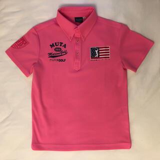 パーリーゲイツ(PEARLY GATES)のムータ muta mutamarine golf ポロシャツ(ポロシャツ)