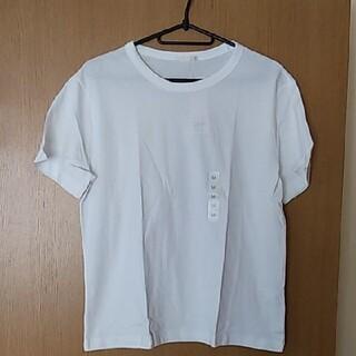ジーユー(GU)のGUTシャツ白(Tシャツ/カットソー(半袖/袖なし))