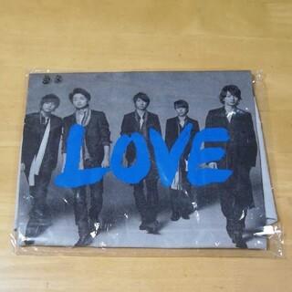 【未開封】嵐 Live Tour 2013 LOVE Tシャツ(アイドルグッズ)