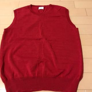 ドアーズ(DOORS / URBAN RESEARCH)のアーバンリサーチ 赤 ノースリーブ(カットソー(半袖/袖なし))